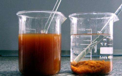 Flocculation use chitosan